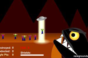 《UFO复仇记》游戏画面1