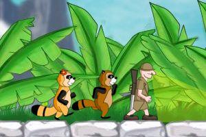 《浣熊逃脱》游戏画面1