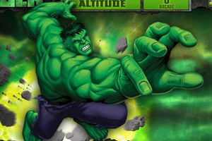 《绿巨人上100层》游戏画面1