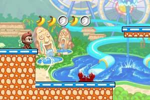 《猴子摘香蕉2》游戏画面1