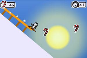 企鹅滑板2