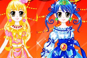 《水晶之恋公主装2》游戏画面1
