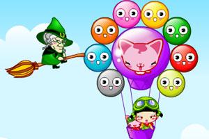 《小黑花花气球之旅》游戏画面1