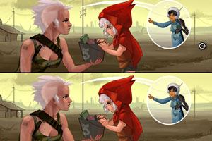 《小红帽与大灰狼》游戏画面1