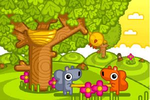 《可爱接小鸟》游戏画面1