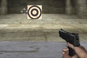 《真人版射击》游戏画面1
