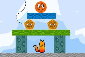 《狐狸滚球》游戏画面1