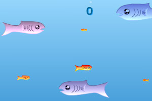 《海底大鱼吃小鱼》游戏画面1
