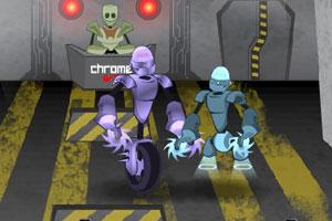 《疯狂独轮车大战变态版》游戏画面1
