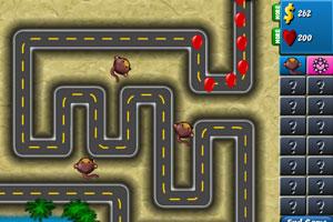 《小猴子守城4V1.0修改版》游戏画面1
