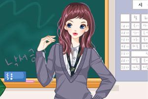 《时尚校花》游戏画面1