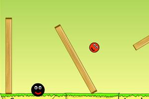 《跳跳小球》游戏画面1