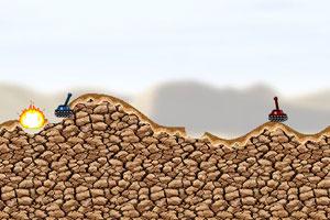《坦克大战役修改版》游戏画面1