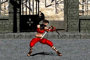 《忍者的复仇》游戏画面1