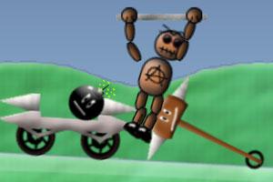 《炸死机器人》游戏画面1