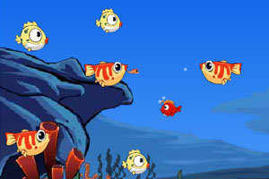 《新大鱼吃小鱼》游戏画面1