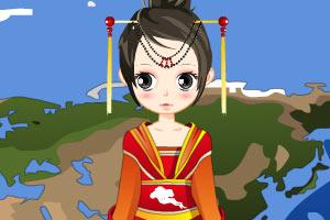 《民族服饰》游戏画面1