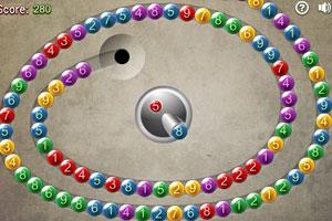 《可爱数字祖玛》游戏画面1