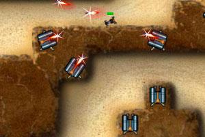 《峡谷防卫中文修改版》游戏画面1