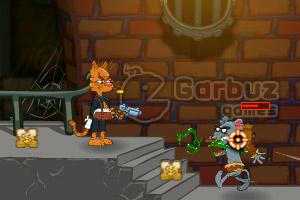 《猫医生大战鼠僵尸英文版》游戏画面1