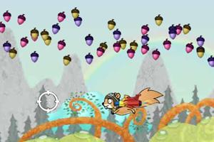 《松鼠历险记无敌版》游戏画面1