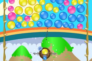 《泡泡龙豪华版》游戏画面1