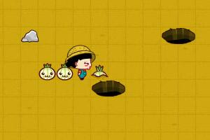 《小黑花花烤萝卜》游戏画面1
