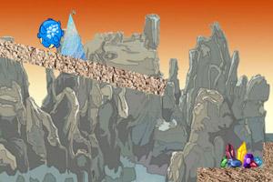 《胖恐龙找宝石》游戏画面1