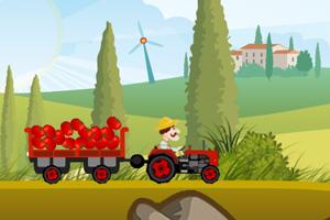 《卡车运蔬菜》游戏画面1