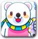 北极熊钓七彩鱼