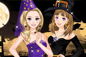 《姐妹万圣节装》游戏画面1