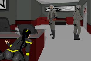 《女特工的秘密潜入无敌版》游戏画面1