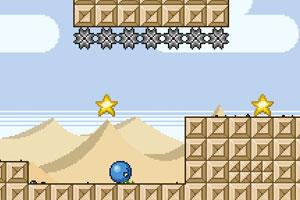《小蓝球历险记》游戏画面1