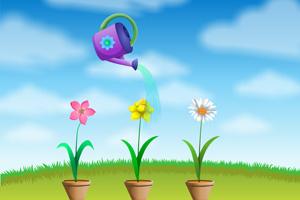 《给花浇水》截图1