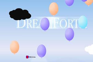 《飞镖扎气球》游戏画面1
