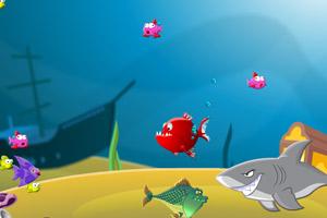《小鱼快长大》游戏画面1