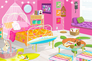 《漂亮的卧室》游戏画面1