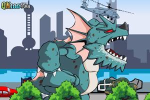 《怪兽大战上海滩》游戏画面1