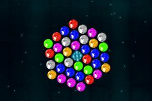 《旋转泡泡龙》游戏画面1