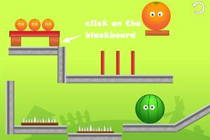 《橙子灭西瓜增强版》游戏画面1