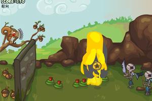 《捍卫你的坚果变态版》游戏画面1
