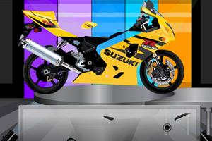 《组装摩托车》游戏画面1