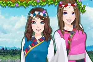 《贝拉姐妹草原行》游戏画面1