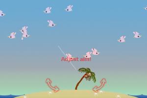 《小猴子打海鸟》游戏画面1