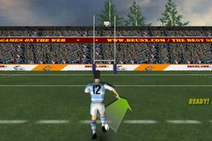 《橄榄球射门》游戏画面1