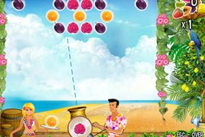 《热带水果泡泡龙》游戏画面1