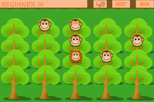 《狮子吃猴子》游戏画面1