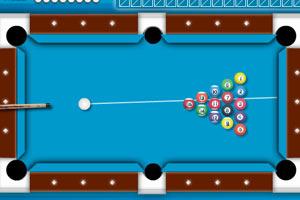 《简易台球》游戏画面1