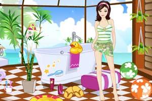 《开放式浴室》游戏画面1