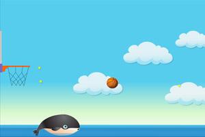 《蓝鲸投篮》游戏画面1